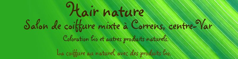 Hair Nature, salon de coiffure mixte bio