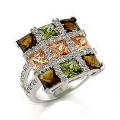 Элитная бижутерия - элегантное кольцо - Санкт-Петербург.