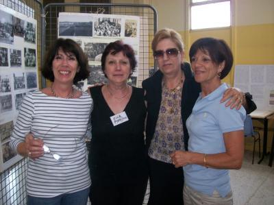 Retrouvailles: Josette  JUAN, Gisèle AMBROSINO, Hélyette NOGUERA et Jacqueline ROIG