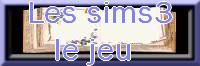 Les sims3/le jeu