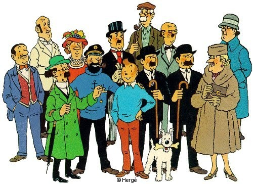 Tintin et Milou Bande Dessinée Tintin et Milou