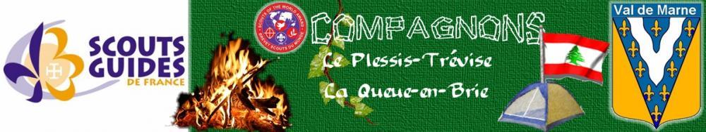 COMPAGNONS du groupe Scouts et Guides de France du Plessis-Trévise/ la Queue-en-Brie