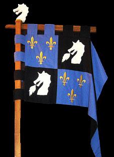 La mesnie des chevaliers de St-Georges et de St-Michel