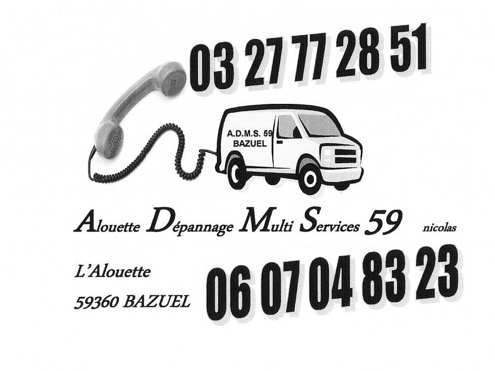 Alouette Dépannage Multi Services 59