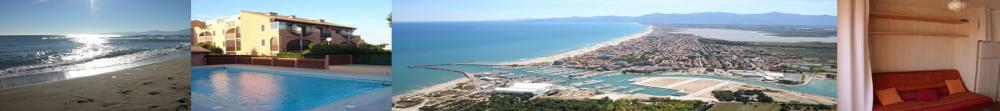 Location Canet Plage, studio ou maison