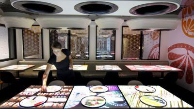Inamo: le restaurant interactif de Londres