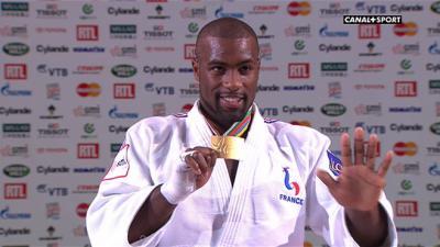 Teddy Riner champion du judo mondial