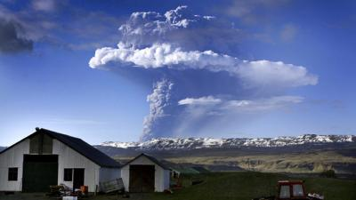 Que pensez vous du volcan islandais qui fait trembler la planète