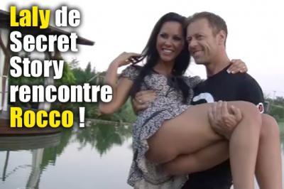 Laly de Secret Story avec Rocco Siffredi