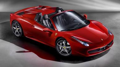 Nouvelle Ferrari 458 Spider coupé-cabriolet