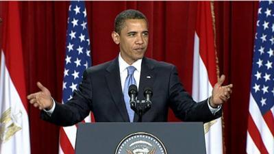 les pays arabes juge sévèrement  Le président des Etats-Unis Barack Obama