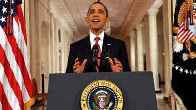 Dette americaine Barack Obama appelle les Américains à se mobiliser