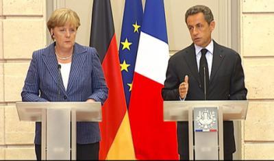 Sarkozy et Merkel proposent leur remède pour sauver l'euro