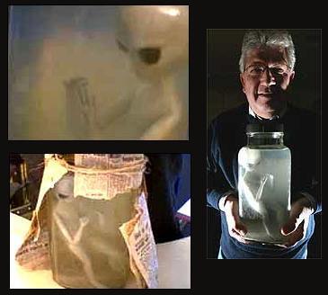 Exclusiff Un Extraterrestre retrouvé dans un bocal