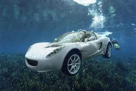 Une voiture qui va sous l'eau ( la Rinspeed sQuba )