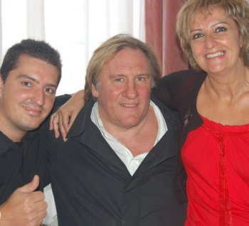 Gérard Depardieu a des affinités dans  l'ariége