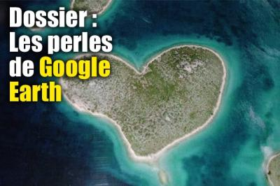 Les meilleurs photos prises depuis Google Earth