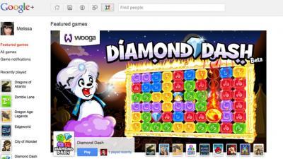 Avec les jeux, Google + vise les portefeuilles de Facebook
