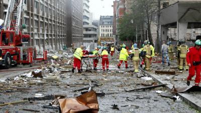 Attentat à la Bombe En Norvège et Oslo