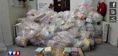 Saisie record de cocaïne au Royaume-Uni