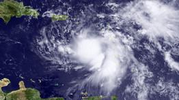 La tempête Emily sur Haïti et de St Domingue