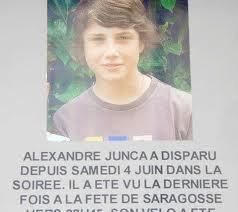 Que pensez vous de la Disparition à Pau Alexandre Junca 13 ans