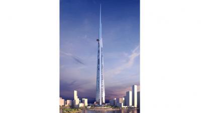 La plus haute tour du monde à Djeddah (  Arabie Saoudite )