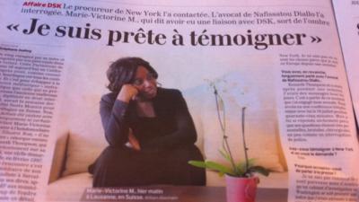 Une AMIE de DSK Marie-Victorine M contactée par l'avocat de Nafissatou Diallo ( Kenneth Thompson )