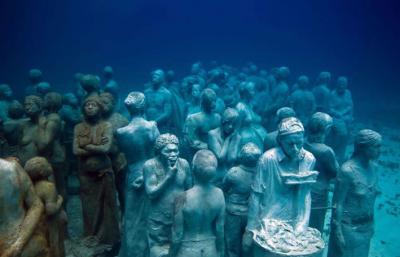 le plus grand musée sous-marin au monde.