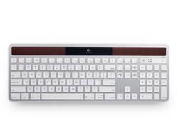 Un clavier alimenté par la lumière