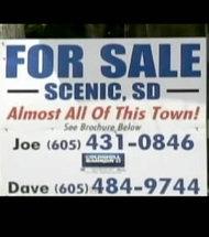 À vendre village fantôme situé aux États-Unis