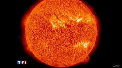 Que pensez vous de l'éruption solaire