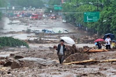 Des glissements de terrain font 28 morts en Corée du Sud