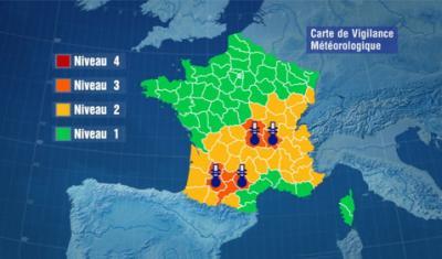 L'alerte canicule dans le sud de la France