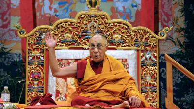 Le dalaï lama à Toulouse avec 7000 pratiquants et sympathisants