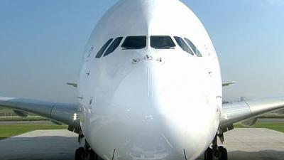 A380 panne d'un moteur Rolls-Royce après le décollage