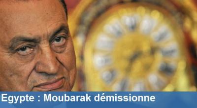 Que pensez vour de Démission de Moubarak Démission de Moubarak en Egypte