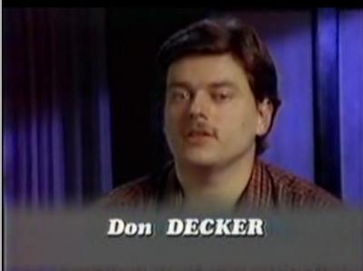 Don Decker L'homme qui fait pleuvoir