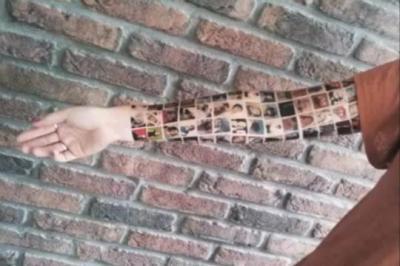 Elle se fait tatouer ses amis facebook