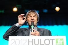 Que pensez vous de la  La candidature de Nicolas Hulot  à l'élection présidentielle