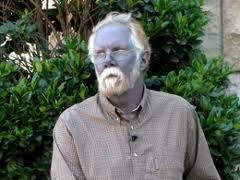 Insolite L'homme bleu ( Paul Karason )