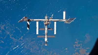 La Station spatiale internationale l'ISS inhabitée cet automne