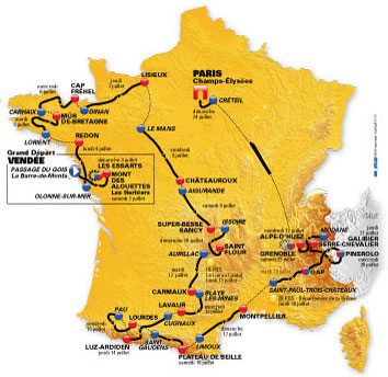 News : Tour de France 2011 (cyclisme)
