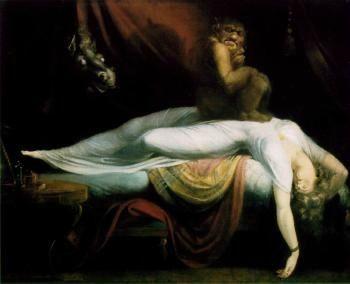 La paralysie du sommeil ou attaque des invisibles