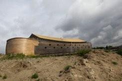 L'arche de Noé réapparaît sur une rivière des Pays-Bas