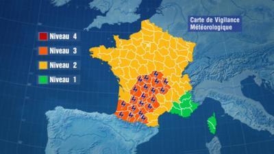 Météo Alerte aux orages sur vingt départements