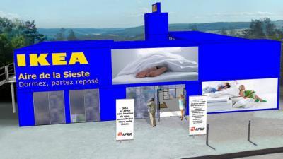 News Ikea offre une sieste sur la route des vacances (vidéo)