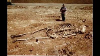 Découvertes au Rwanda de sépulture de créatures gigantesques