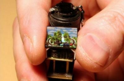 Le plus petit train électrique au monde
