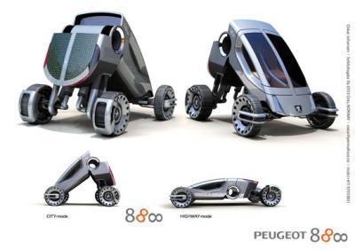 La Peugeot 888